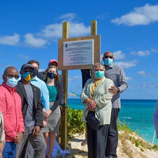 Ribbon Ceremony for the Dune Road