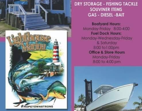 Lighthouse Marina is Open!