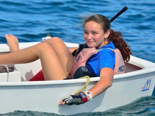Cartwright looking to sail at 2024 Olympics