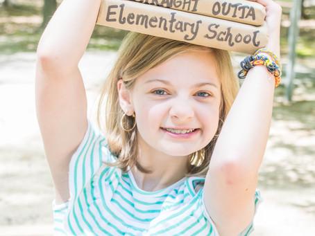 Chloe's Elementary Graduation Session