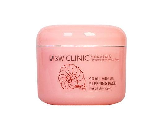 Ночная маска Snail Mucus Sleeping Pack   3W Clinic