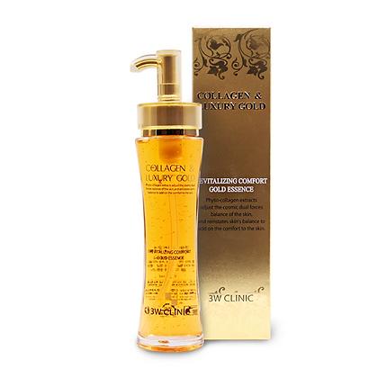 Восстанавливающая эссенция Collagen & Luxury Gold. 3WClinic