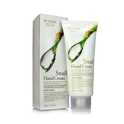 Увлажняющий крем для рук Moisturizing Snail Hand Cream | 3WClinic