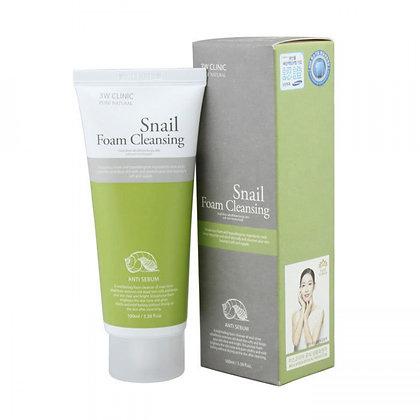 Пенка для умывания Snail Foam Cleansing   3WClinic