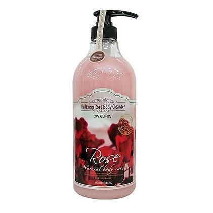 Гель для душа с ароматом Розы. 3WClinic