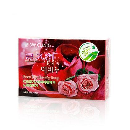 "Мыло кусковое ""Роза""   3WClinic"