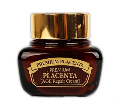 Крем для лица с плацентой антивозрастной. 3WClinic