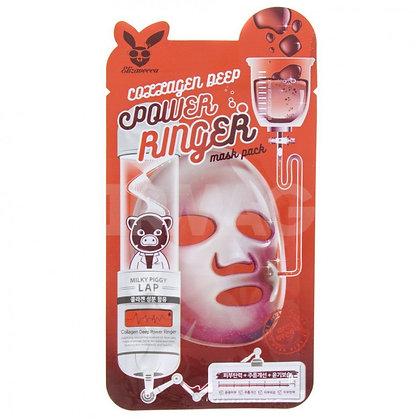 Тканевая маска для лица с коллагеном. Elizavecca.