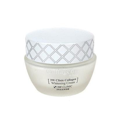 Крем для лица Collagen Whitening Cream | 3WClinic