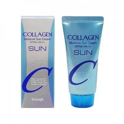 Увлажняющий солнцезащитный крем с коллагеном | Enough