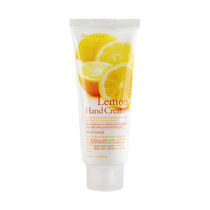 Крем для рук c экстрактом лимона. 3WClinic