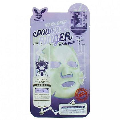 Тканевая маска для лица с молоком. Elizavecca.