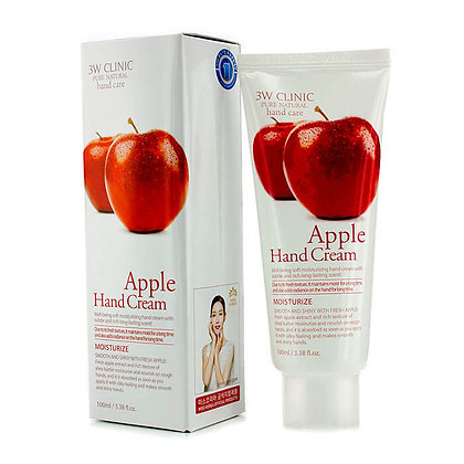 Крем для рук увлажняющий с экстрактом яблока | 3W Clinic