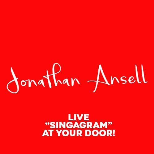 "Live ""SINGAGRAM"" Experience *SEPTEMBER SPECIAL*"