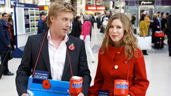 Performing for the Poppy Appeal