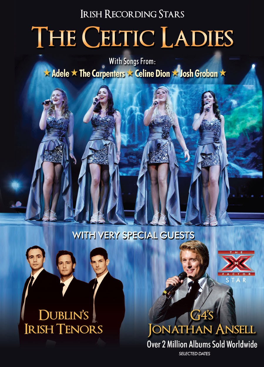 THE CELTIC LADIES STARRING JONATHAN ANSELL