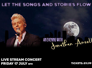 Evening with Jonathan Ansell 17 July 202