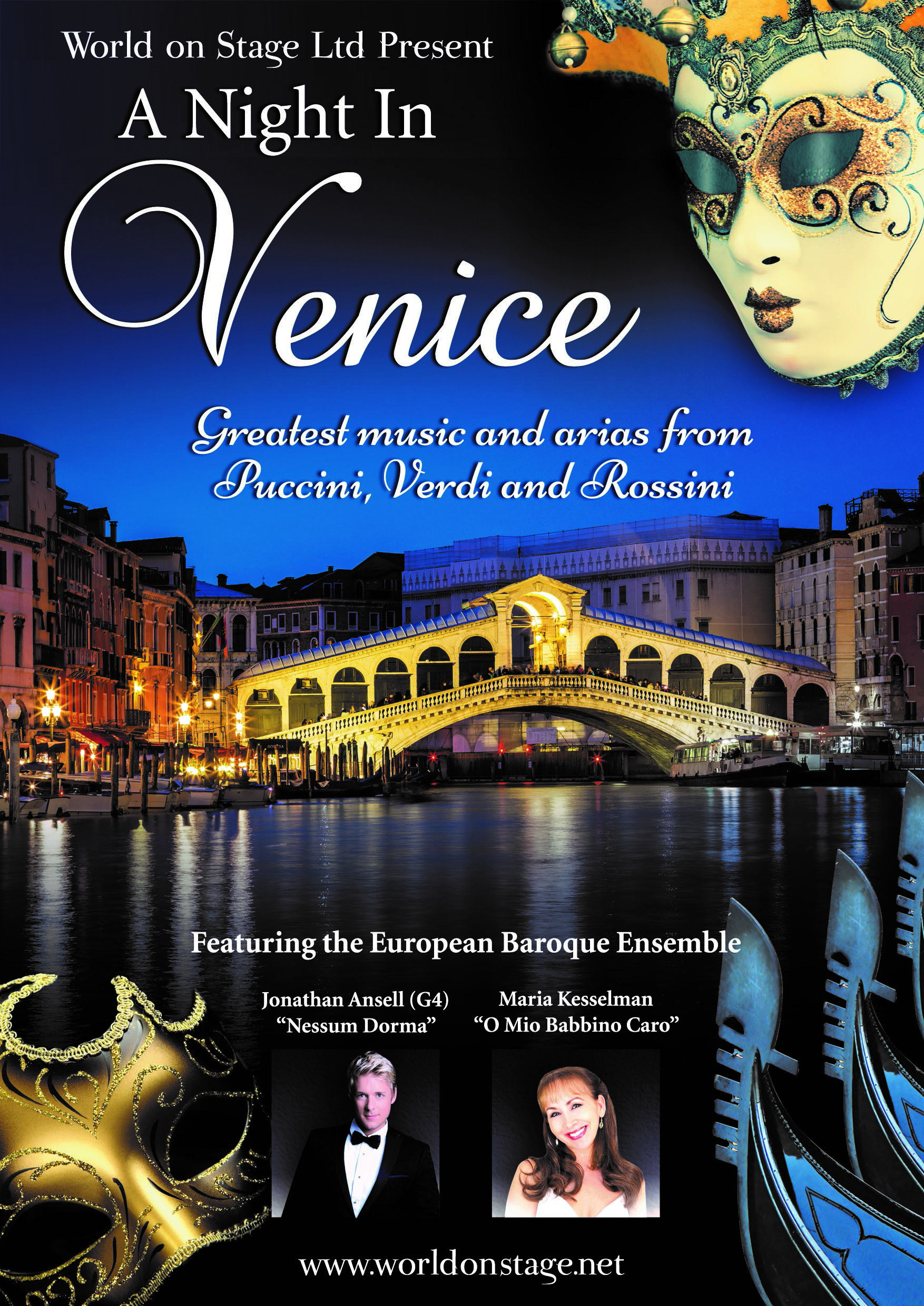 ONE NIGHT IN VENICE