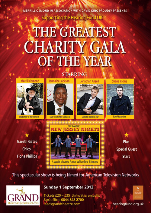 The Greatest Charity Gala of the Year