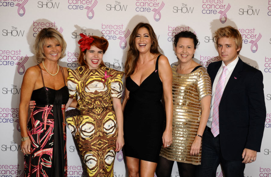 BREAST CANCER CARE CHRISTMAS BALL
