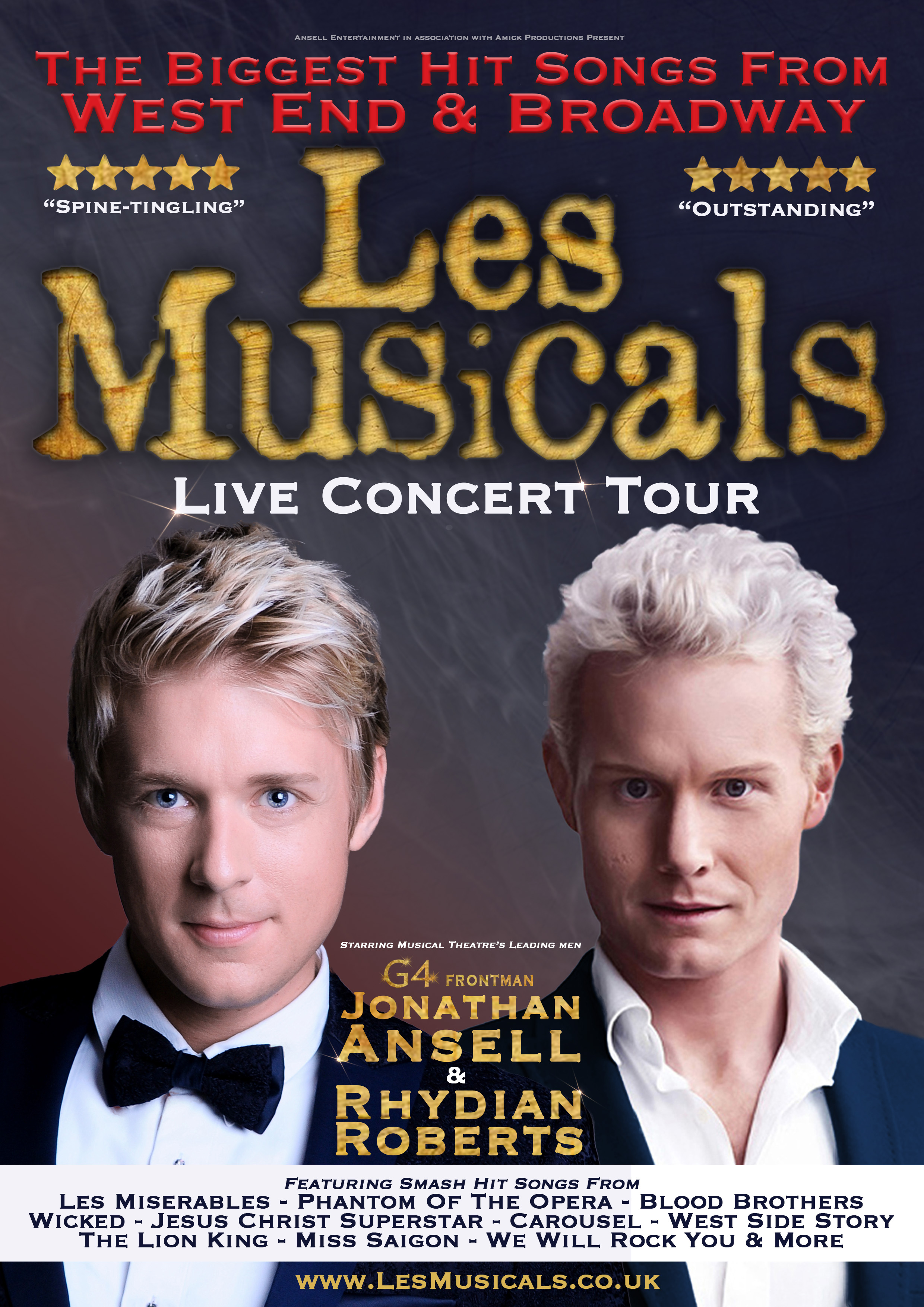 'Les Musicals' Poster