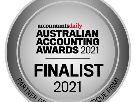 Jeni Wilcock: Finalist in the Australian Accounting Awards Partner of the Year (Boutique Firm)