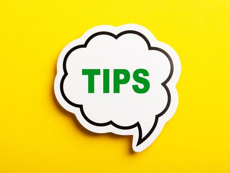 Handy Tips for JK 2.0