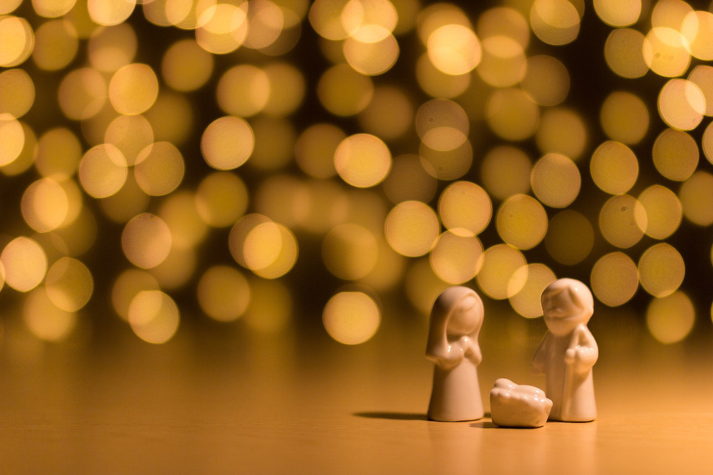A tiny nativity which still may be inaccurate