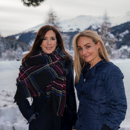 Fashion industry leaders and HRH the Crown Princess of Denmark unite during World Economic Forum.