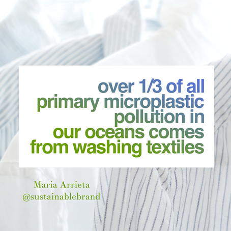 Our Clothes are Contaminating The Ocean.