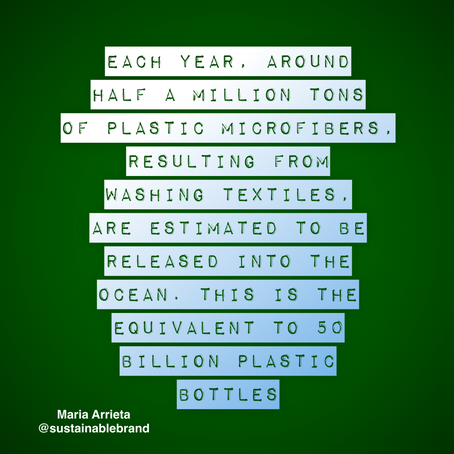 The production of textiles has a massive impact on the environment.