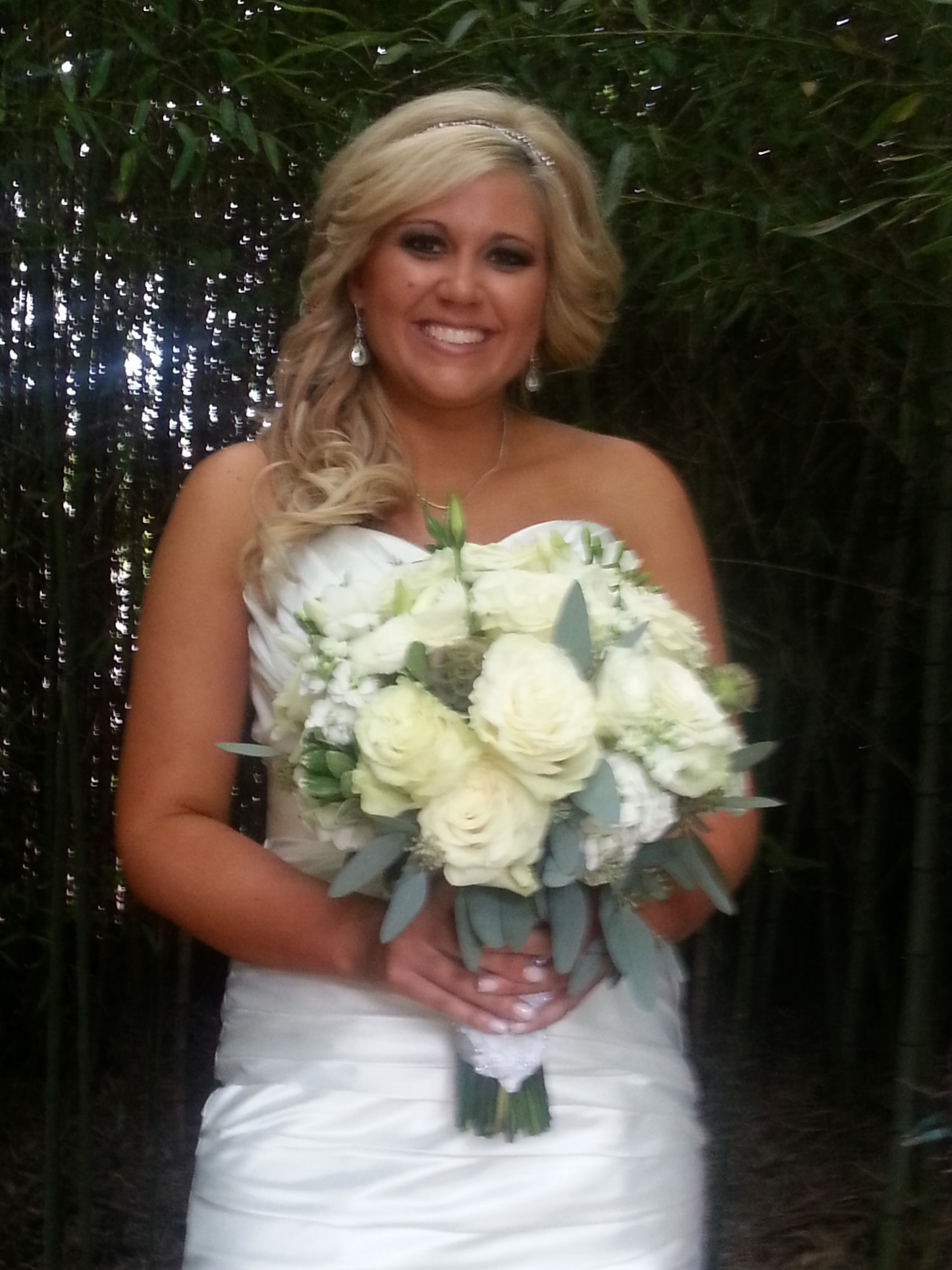 Bouquet in White