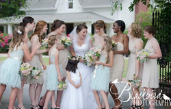 Bridal Party and Flower Girls
