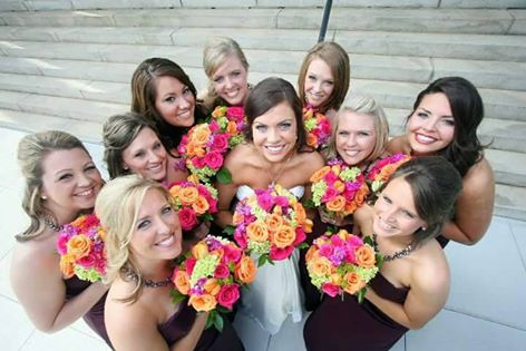 Bridesmaid circle