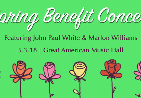 Spring Benefit Concert: John Paul White and Marlon Williams May 3 at Great American Music Hall in SF