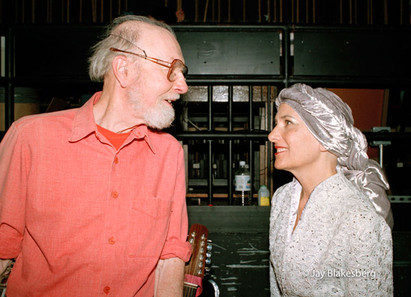 Pete Seeger and Mimi