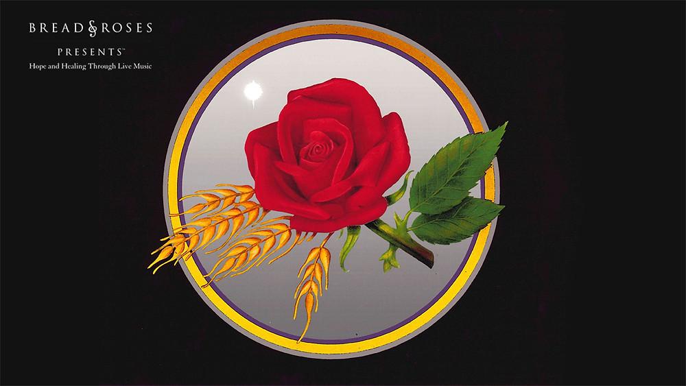 Bread & Roses Concert Backdrop