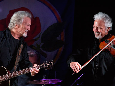 Kris Kristofferson Plays Private Benefit Concert for Bread & Roses