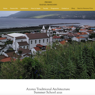 Azores Traditional Architecture Summer School 2021