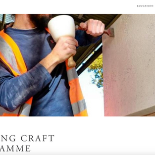 The Prince's Foundation Building Craft Programme