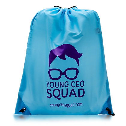 Young CEO Squad Drawstring Backpack