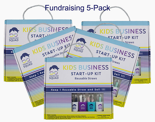 Fundraising 5 Pack + 5 Bags + Free Ship