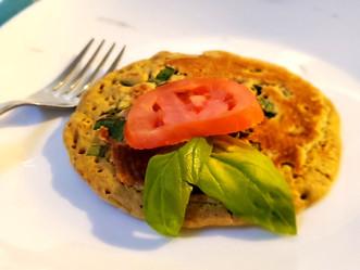 Savory Eggless Pancakes
