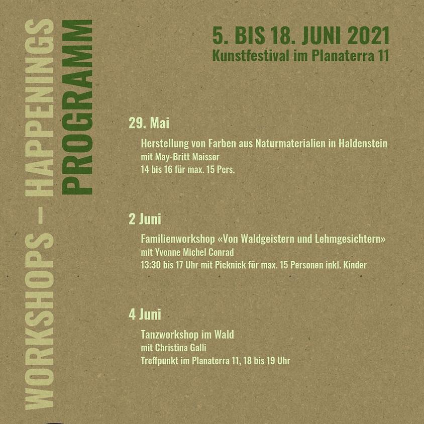 Workshops Kunstfestival im Planaterra
