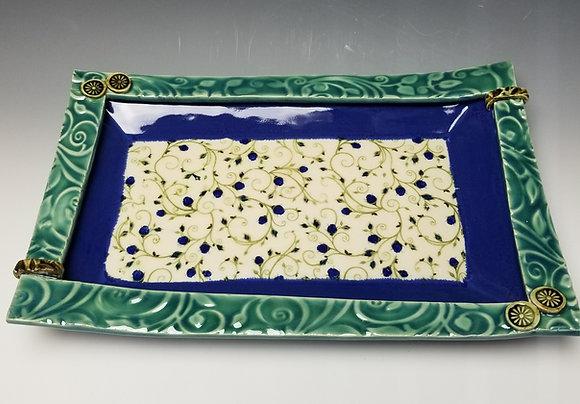 Decorative Ceramic tray