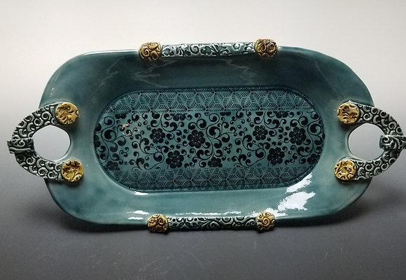 Vintage Style Decorative Tray