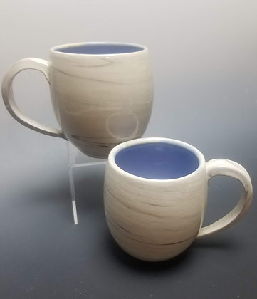 Agateware Porcelain Mug