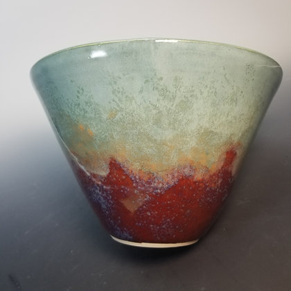 Contemporary Altered Clay Vase