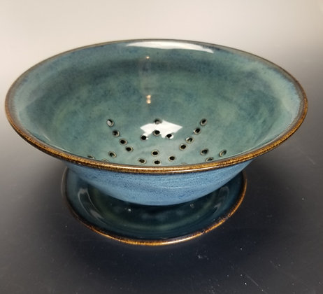 Layered Blue Berry Bowl with Plate