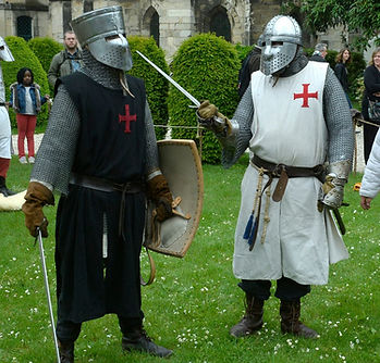 Sergent d'arme et chevalier templier - Pater Patrie